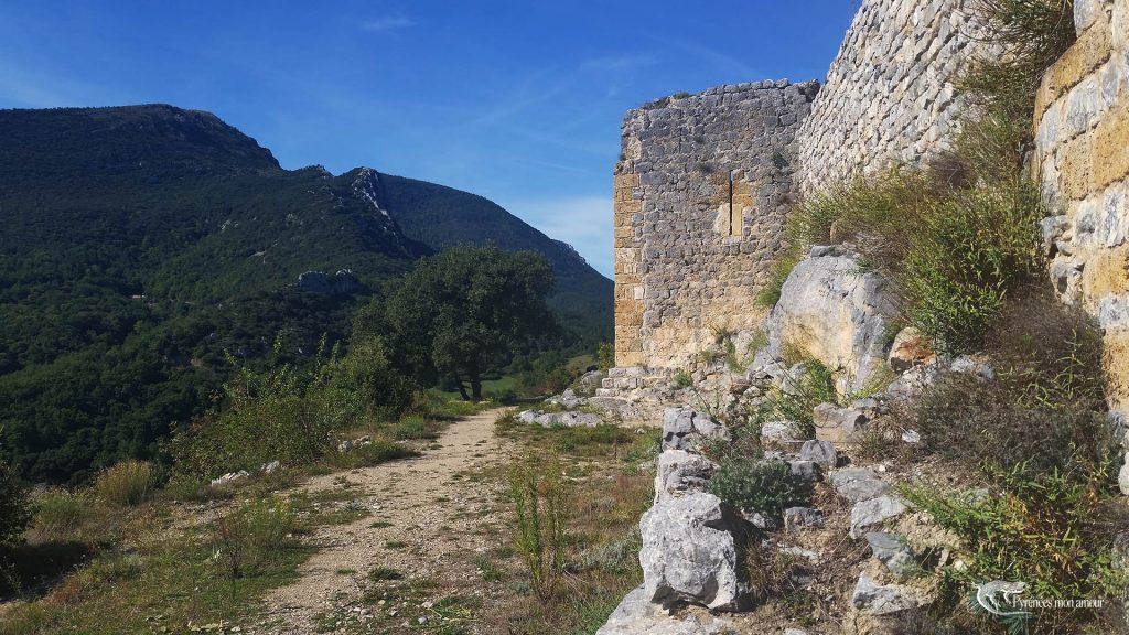 château du fenouillet castrum de saint pierre