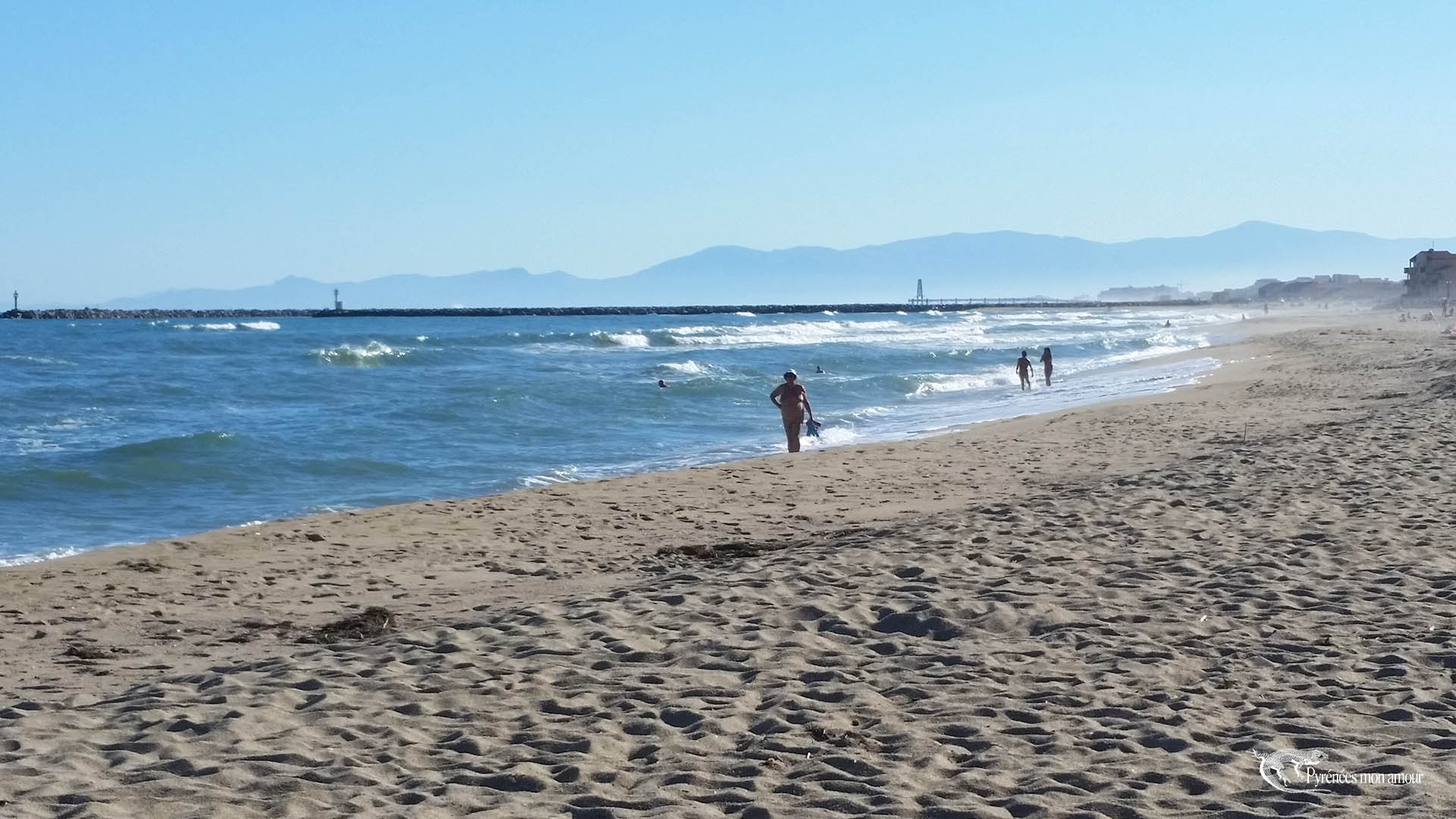 plage naturiste mer Méditerranée naturiste pyrénées orientales