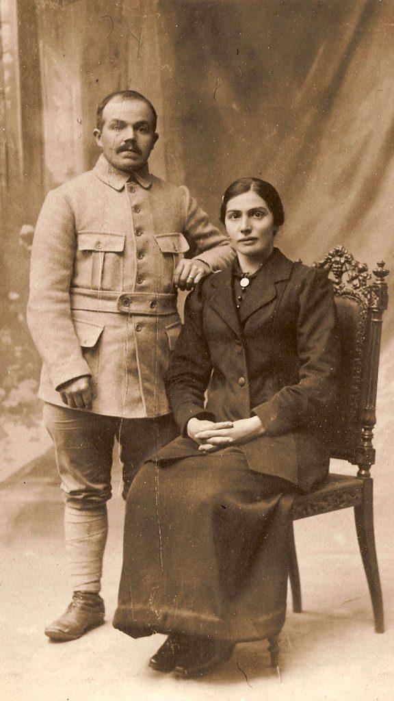 Romain Abadie et Marie-Louise Calvet histoire du gite