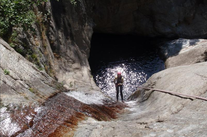 canyoning anelles