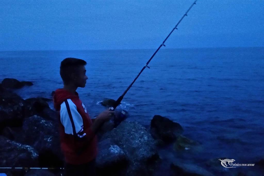 Leucate pêche nocturne