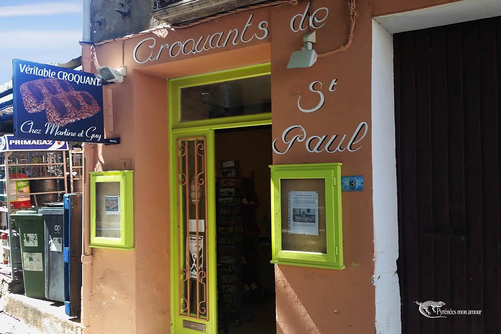 croquant de Saint Paul de fenouillet chez Martine et Guy Bès