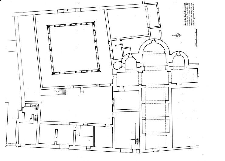 plan de saint-genis des fontaines