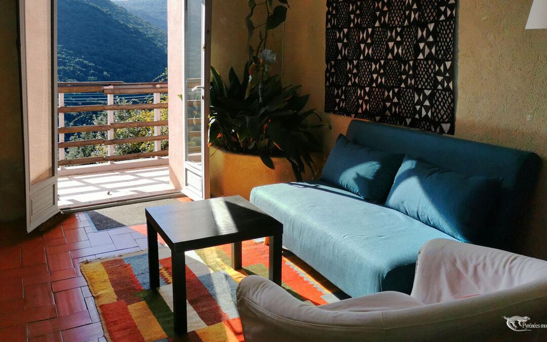 gite avec vue pyrenees orientales - Felluns